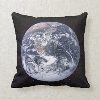 Almofada Céu estrelado da terra do planeta