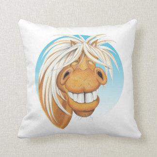 """Almofada Companheiro do cavalo de Equi-toons """"Chappie"""