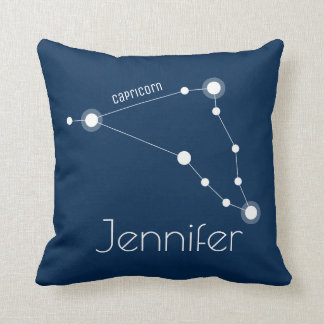 Almofada Constelação personalizada do zodíaco do