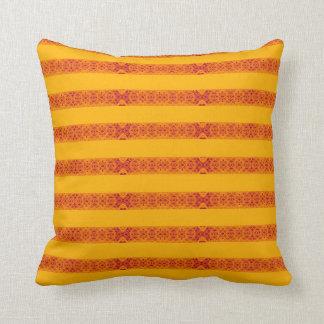 almofada cor de laranja