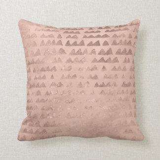 Almofada Coxim cor-de-rosa das montanhas