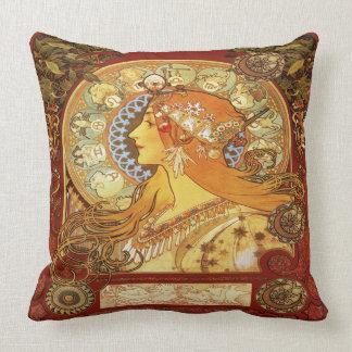 Almofada Coxim do travesseiro do zodíaco