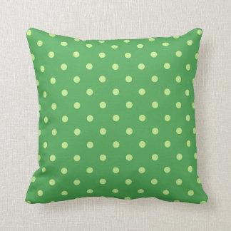 Almofada Decoração verde da casa do travesseiro decorativo