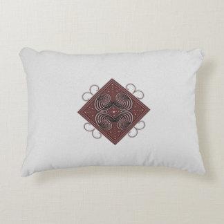 """Almofada Decorativa Aspira o travesseiro 12"""" do acento do algodão x16"""
