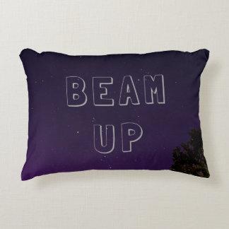 Almofada Decorativa Feixe do travesseiro das noites estrelados acima