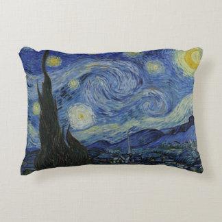 Almofada Decorativa Noite estrelado Vincent van Gogh