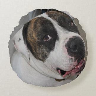 Almofada decorativa redonda (40,6 cm) personalizar almofada redonda