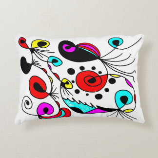 "Almofada Decorativa ""Travesseiro da fantasia abstrata"" por LI6"