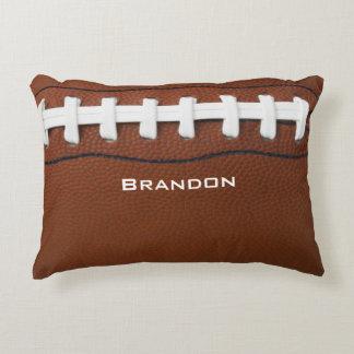Almofada Decorativa Travesseiro do acento do design do futebol