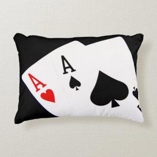 Almofada Decorativa Travesseiro do acento do póquer