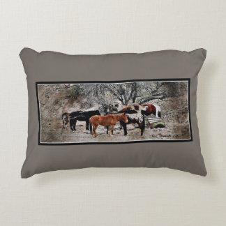 Almofada Decorativa Travesseiro do acento dos cavalos de Wickenbury