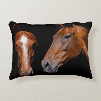 Almofada Decorativa Travesseiro dos cavalos do caçador