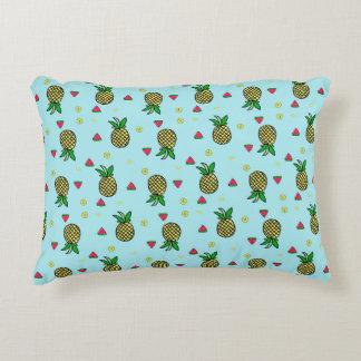 Almofada Decorativa Travesseiro tropical do acento do impressão do