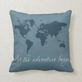 Almofada Deixe a aventura começar