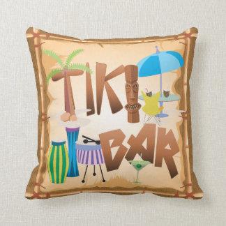 Almofada Design retro do bar de Tiki