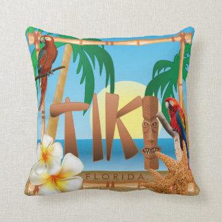 Almofada Design tropical de Tiki