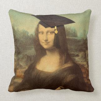 Almofada Dia de graduação de Mona Lisa