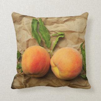 Almofada Dois pêssegos. Conversação