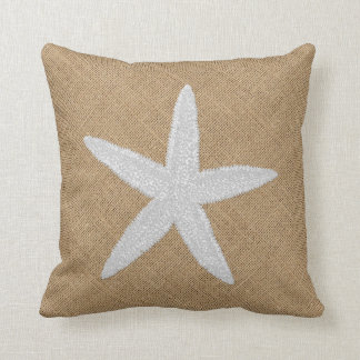 Almofada Estrela do mar gravada do olhar na serapilheira