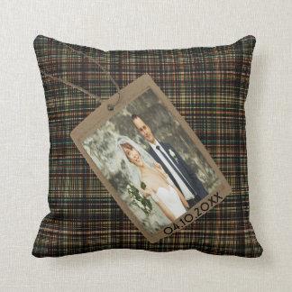 Almofada Foto de família feita sob encomenda da memória em