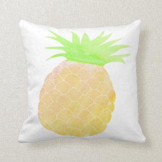 Almofada Fruta bonito do Watercolour do travesseiro do