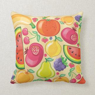 Almofada Frutas