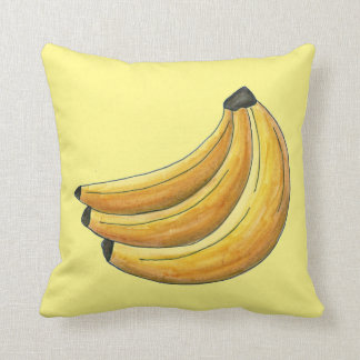 Almofada Grupo amarelo do travesseiro da fruta da banana