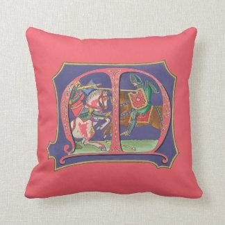 Almofada Joust medieval