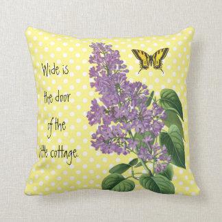 Almofada Lilac irlandês do país botânico