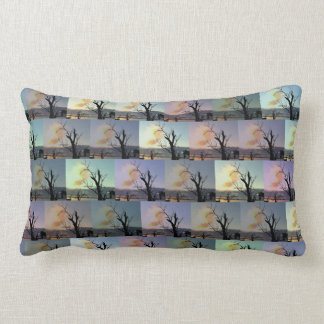 Almofada Lombar Arte abstracta australiana da árvore de goma,