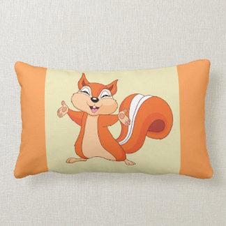 Almofada Lombar Efervescente o esquilo brincalhão