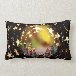 Almofada Lombar Estrelas de Jesus Joseph da Virgem Maria da ucha