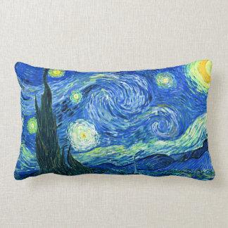 Almofada Lombar noite estrelado de Van Gogh