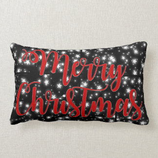 Almofada Lombar O Feliz Natal descansa a noite estrelado