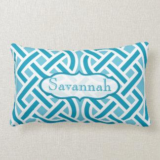 Almofada Lombar O nó celta escolhe o travesseiro personalizado cor
