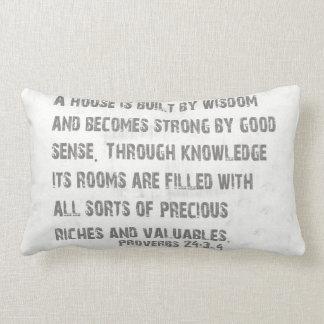 Almofada Lombar Palavras do travesseiro da sabedoria