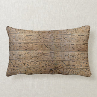 Almofada Lombar Presente egípcio antigo do desenhista dos