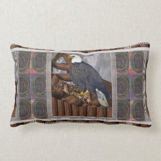 Almofada Lombar Rei de EAGLE do pássaro do habitat de