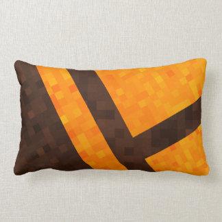 Almofada Lombar Teste padrão abstrato amarelo do azulejo de