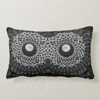 Almofada Lombar travesseiro abstrato do círculo