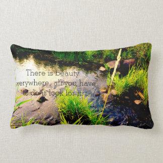 Almofada Lombar Travesseiro bonito das citações