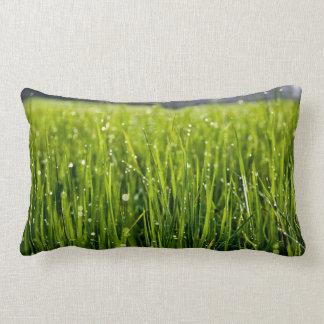 Almofada Lombar travesseiro decorativo da grama verde