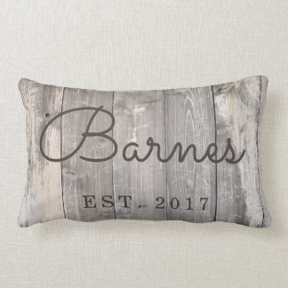 Almofada Lombar Travesseiro decorativo de madeira rústico da