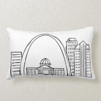 Almofada Lombar Travesseiro decorativo de St Louis - trabalhos