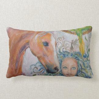 Almofada Lombar Travesseiro decorativo do cavalo