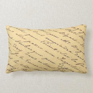 Almofada Lombar Travesseiro FRANCÊS das COISAS EFÊMERAS do ROTEIRO