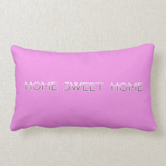 Almofada Lombar Travesseiro Home doce Home do acento (rosa)
