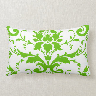 Almofada Lombar Travesseiro lombar do damasco verde