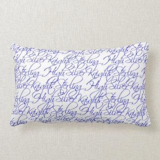 Almofada Lombar Travesseiro lombar do design de texto II alto