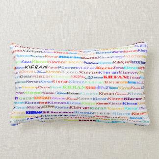 Almofada Lombar Travesseiro lombar do design de texto II de Kieran